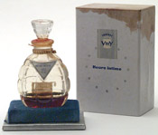 Vigny 'Heure Intime' perfume bottle and box photo