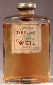 'Zibeline' perfume by Weil, bottle photo